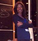 Lady Boss in INSEAD Amphi, 2012.